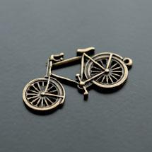 Pendentif Vélo Bronze vieilli x 5