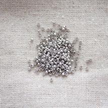 Perle à écraser 2mm Argent gris x 200