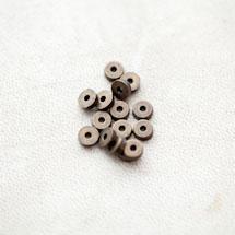 Perle en métal 5mm Rondelle Bronze vieilli x 30pcs