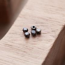 Perle en Métal Boulon 4mm Bronze vieilli x 20