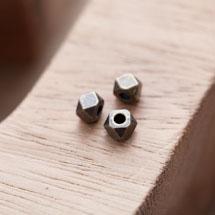 Perle en Métal Boulon 5mm Bronze vieilli x 20