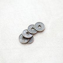 Perle en métal Rond 10mm Pièce Bronze vieilli x 20pcs