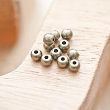 Perle en métal Ronde 5mm Bronze vieilli x 25