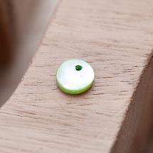 Sequin Nacre 10mm Vert clair x 20