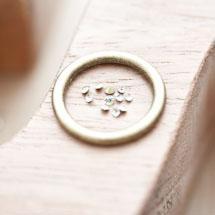 Strass en verre 2mm Cône Jaune clair x 16