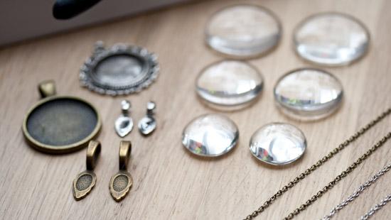 Spécial cabochon : Accessoires, Kit de créations et... Bijoux