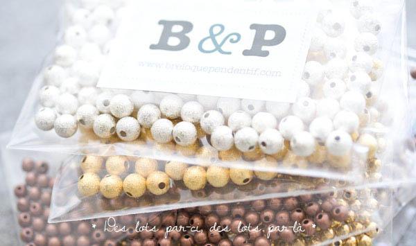Nouveaux lots à -50% : Faites le plein de perles et d'accessoires !