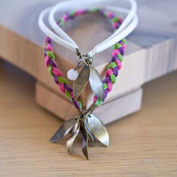 creation bijoux diy bracelet cordons