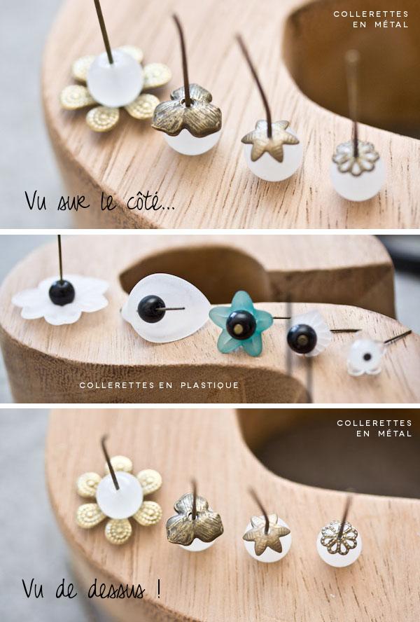 Jolies collerettes : Aperçu sur perles