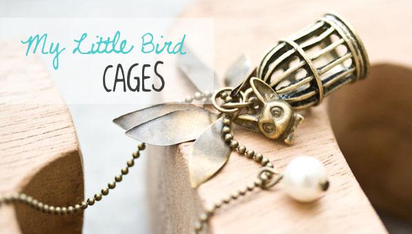 Des sautoirs My Little Bird Cages à confectionner