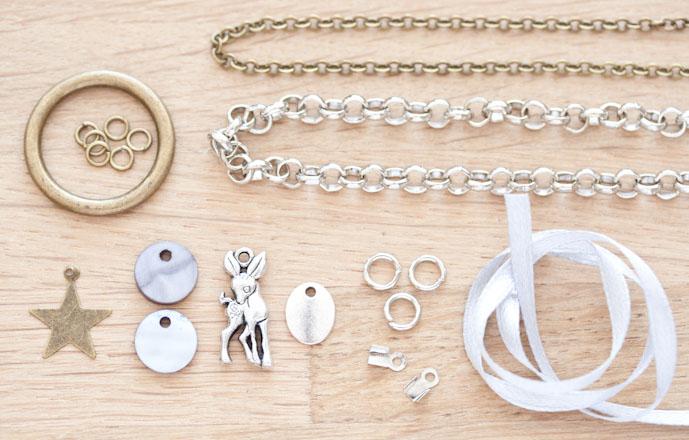 tuto creation bijoux sautoir grigri