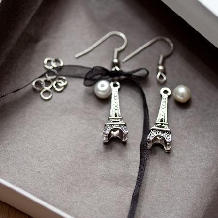 Boucles d'oreilles Parisiennes