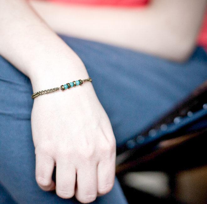 DIY Bracelet /// Honeymoon