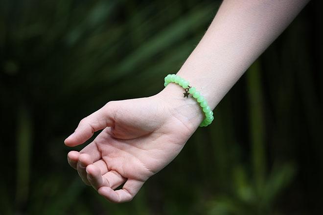 DIY Bracelet /// PAS SI SAGE