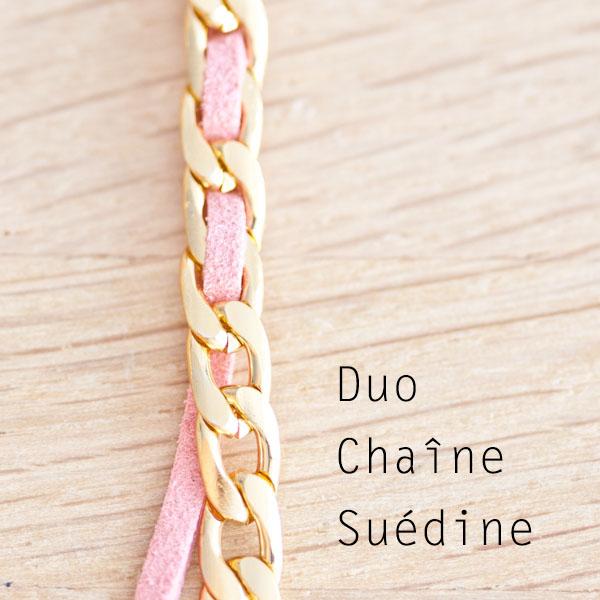 Astuce DIY du jour : Duo Chaîne et Suédine