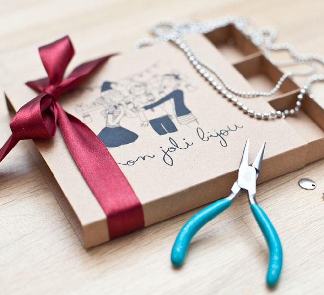 diy box bijoux breloque pendentif