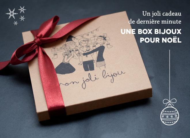 Un joli cadeau de dernière minute : Une Box Bijoux pour Noël !