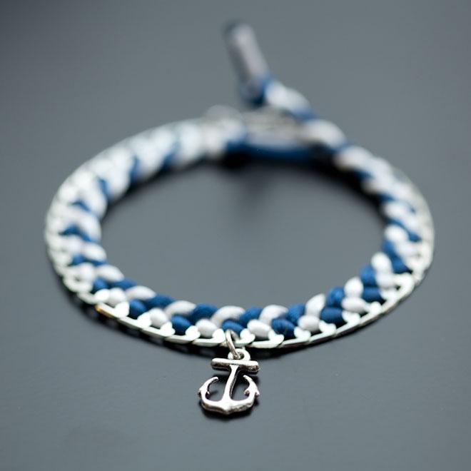 Bracelet Peace Skull Ancre 1