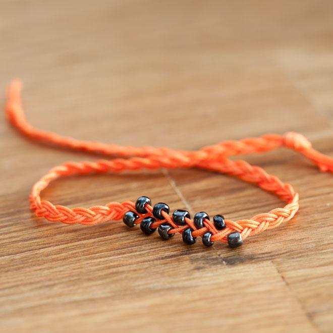 Bracelet Electrique Tresse et Perles