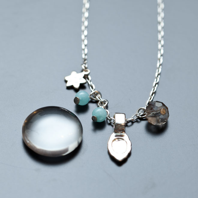 Collier Sweet Cold Cabochon