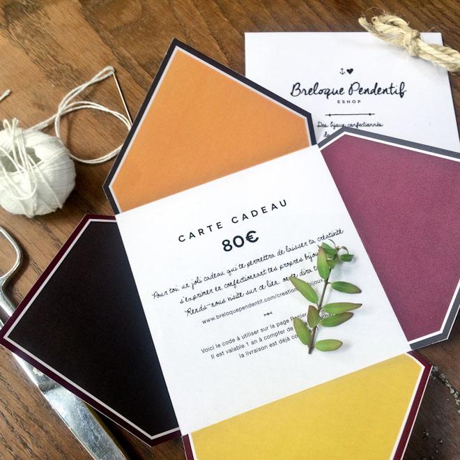 Comment préparer sa carte cadeau en 3 étapes