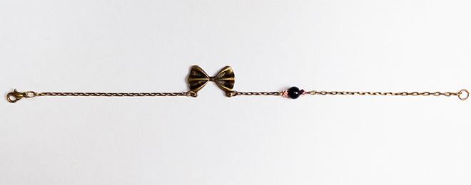 réalisation du bracelet