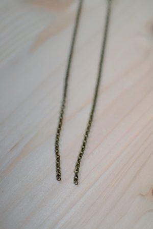 chaîne bronze vieilli à maillons ronds