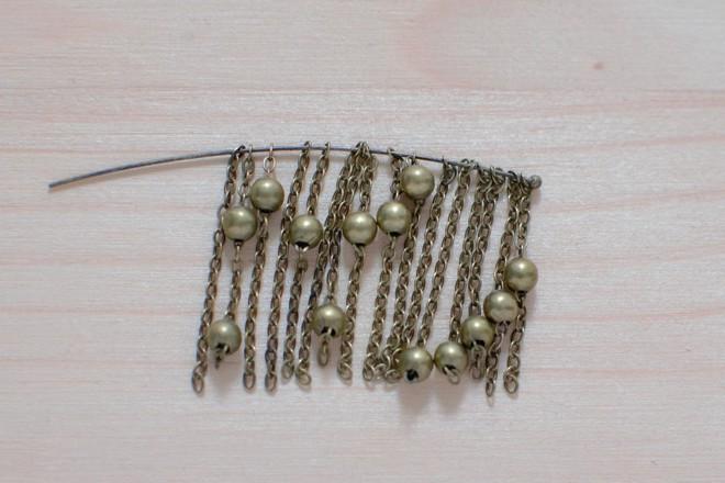 petits morceaux de chaîne à boule