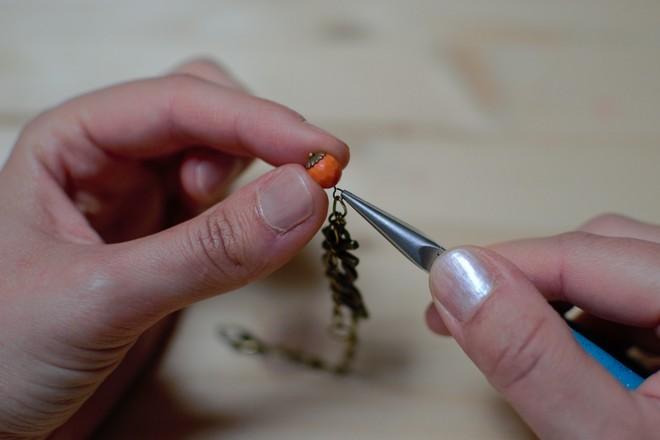 fixer perle orange